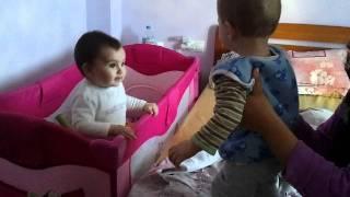 Alexandra si Sebi 08 01 2012