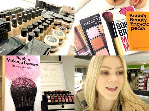 VLOG | Bobbi Brown Basic Training Course