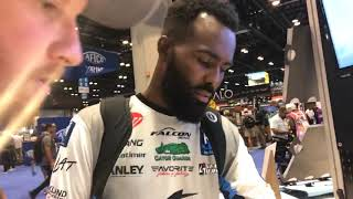 ICast 2018:New  Z man Fishing Products with Brian Latimer Aka B Lat!