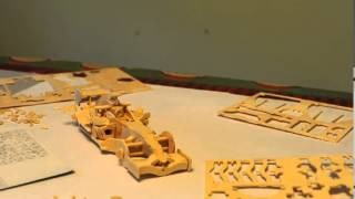 Wooden Race Car Timelapse