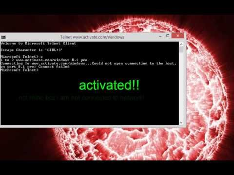 How to activate any windows in just 1 min...
