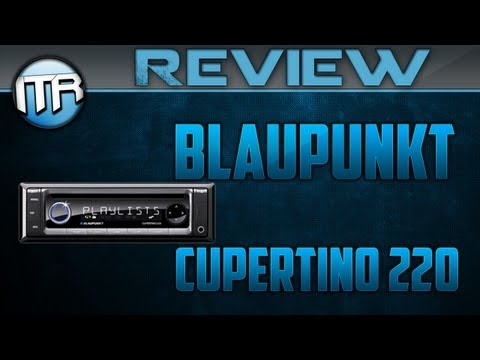 Blaupunkt Cupertino 220 Autoradio mit iPod & iPhone-Control [HD] - Deutsch