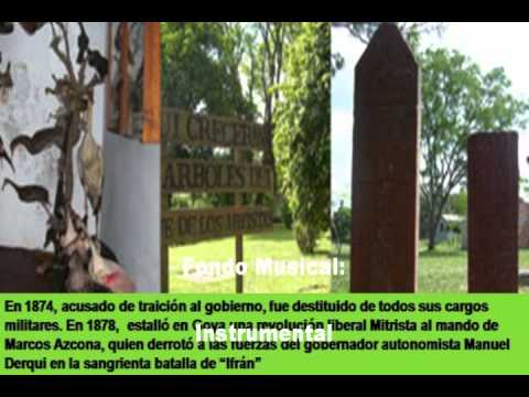 Homenaje al Coronel Marcos Azcona