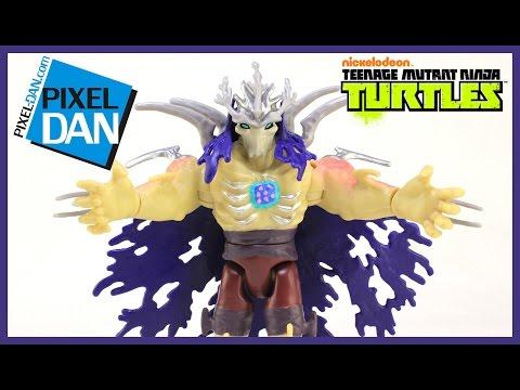 Super Shredder Teenage Mutant Ninja Turtles Nickelodeon Figure Video Review