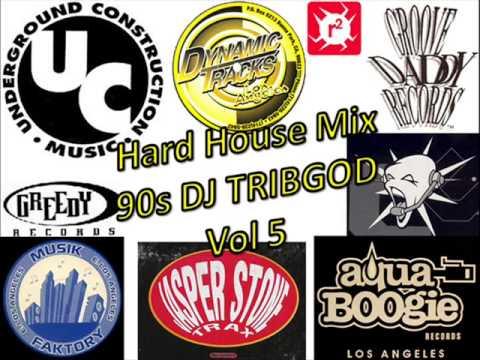 Hard house mix 90s dj tribgod vol 5 youtube for Classic 90s house vol 2