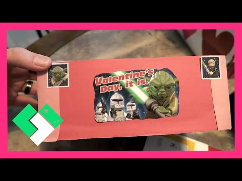 MAKING VALENTINE'S DAY CARDS (2.10.16 - Day 1411) | Clintus.tv