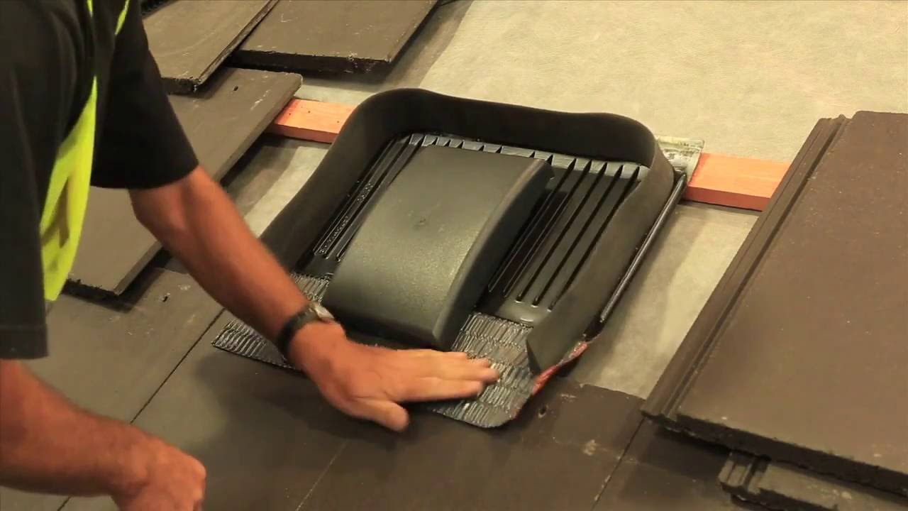 How To Fit Marley Tile Vent Terminals. Roofinglines Roofing Supplies