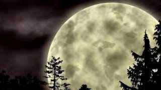 очень красивая музыка и фоновые фотографии, смотреть всем. одинокая луна