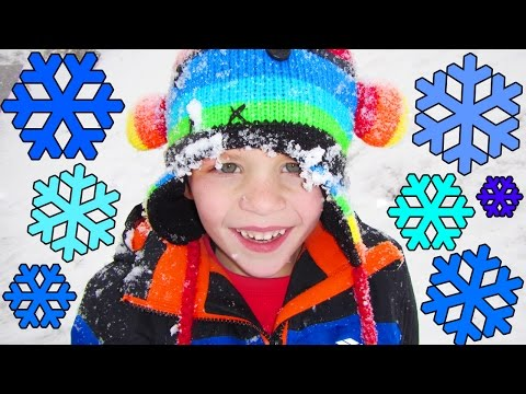 24 Hours With 5 Kids on a Snowy Day