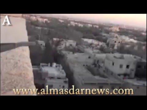 Syrian Army Destroys Jaish al Islam Base in Harasta