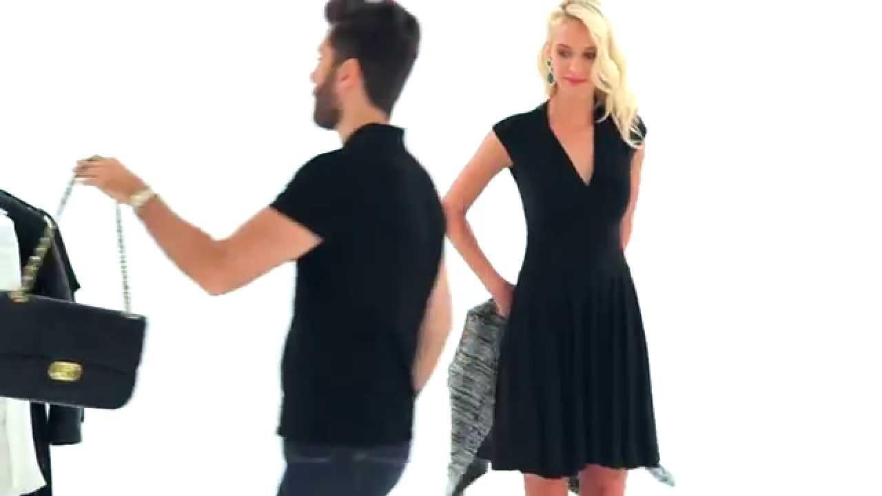 9b6569d15fdea Nasıl Giyilir? / 7 Siyah Elbise 7 Stil - YouTube