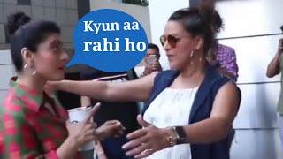 Bollywood actor Kajal ne Bollywood actress Kaushik Mila Diya