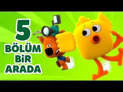 Türkçe Çizgi Film Ay Ay Ayıcıklar - 5 Bölüm Bir Arada