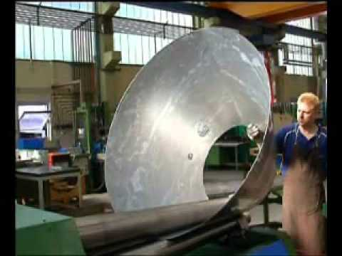 Omcca Plate Cone Rolling Machine With Two Roll Small Hole