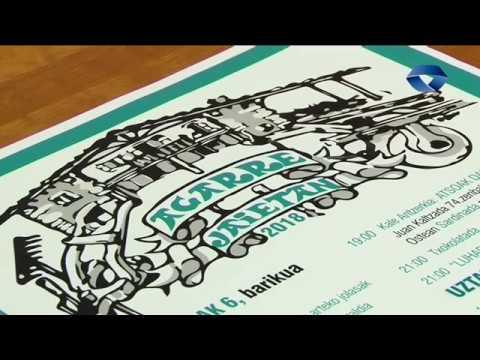 Lehiaketa gastronomikoa eta Basque Pool Skate Agarreko jaietan