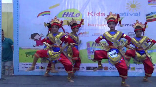 Download Mp3 Tari Rampak Juara 1 Hilo Kids Festival Competion Dance 2017 Malang