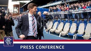 PRESS CONFERENCE | Steven Gerrard | 04 May 2018 thumbnail