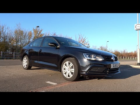 2015 Volkswagen Jetta 2.0 TDI 110 S Start-Up and Full Vehicle Tour