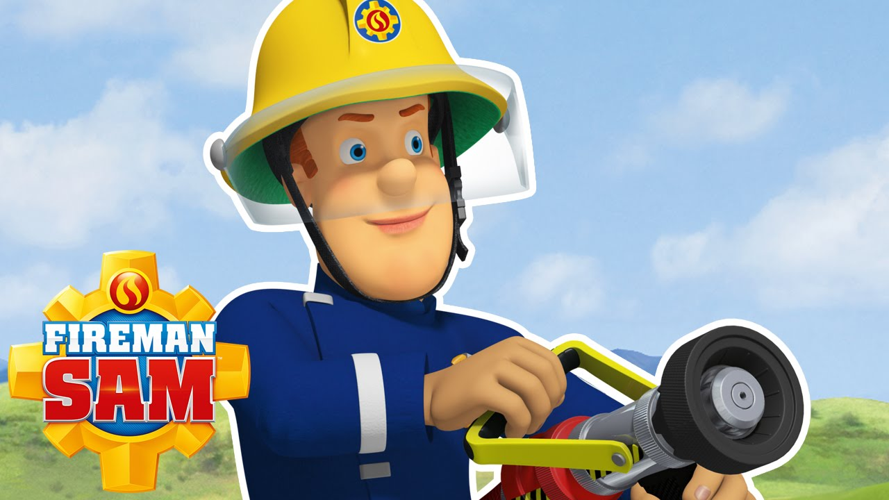 It is a photo of Handy Fireman Sam Pic