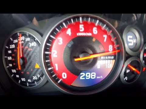 Nissan GT-R R35 2000 HP Acceleration 0-350 km/h