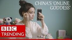 Lele Tao: China's 'online goddess' on $450k a year - BBC Trending (Full video)
