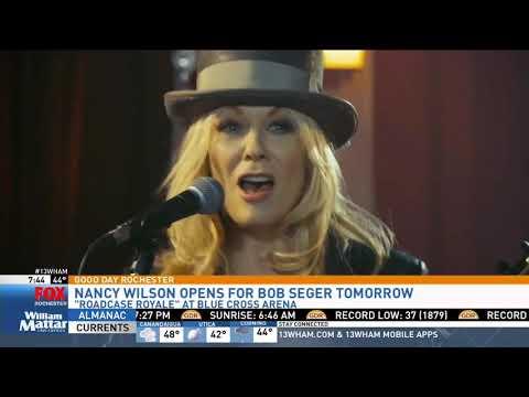 Heart's Nancy Wilson Talks New Band On Good Day Rochester