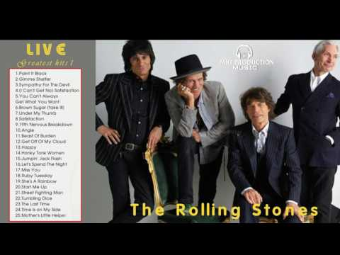 The Rolling Stones Greatest Hits Album Live || The very best of Rolling Stones 2017