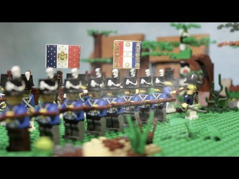 Lego Napoleonic war 1812 stopmotion