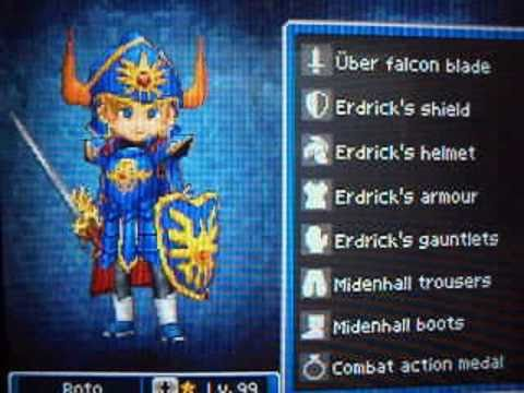Dragon Quest Ix Mudkipchow S Request Hero Gear Youtube I made the armor myself based on artwork, but the cape comes from. dragon quest ix mudkipchow s request