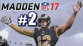 SHOWING OFF THE WHEELS!   Madden 17   Career Mode #2
