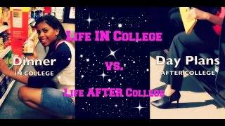 Life After College Vlog | Life IN College vs. Life AFTER College