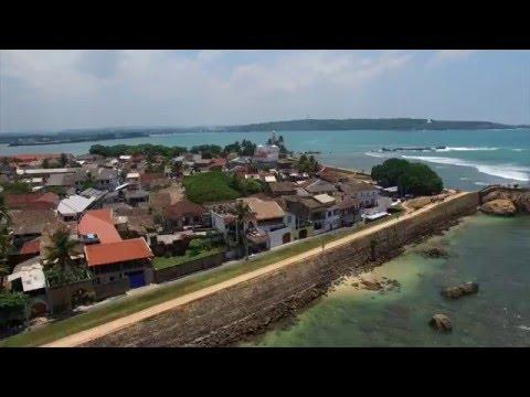 Galle Fortress  Sri lanka  Drone