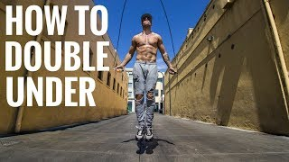 Jump Rope Double Under Tutorial