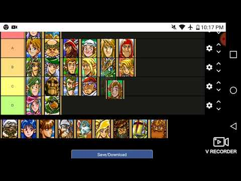 Shining Force 2 Tier List of Characters