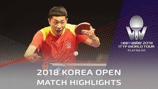 Video Xu Xin vs Masataka Morizono | 2018 Korea Open Highlights (R32) download MP3, 3GP, MP4, WEBM, AVI, FLV Juli 2018