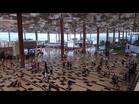 CHANGI AIRPORT SINGAPORE Review Terminal 2 Terminal 3 | VLOG