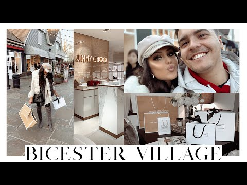 BICESTER VILLAGE CHRISTMAS SHOP & HUGE HAUL!!!! | VLOGMAS WEEK 3