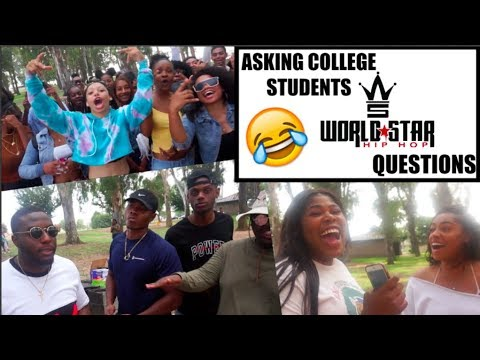 WORLDSTARHIPHOP QUESTIONS: Ep 1 | College Edition