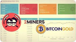 🔴 Майнинг BTG (Bitcoin Gold) на видеокарте. Легкий старт на пуле: btg.2miners.ru