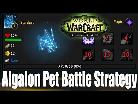WoW Legion: Algalon Pet Battle Strategy Guide