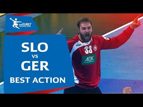 Wolff's double denial against Dolenec | Men's EHF EURO 2018 Qualification