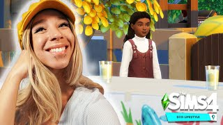 SIMS 4 ECO LIFESTYLE #10! 🌿 🥰 ENGAGEMENT \u0026 TODDLER DATE