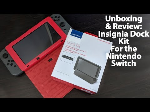 Unboxing & Review: Insignia Nintendo Switch Dock Kit - How does this $40 Dock Perform? Does It Suck?
