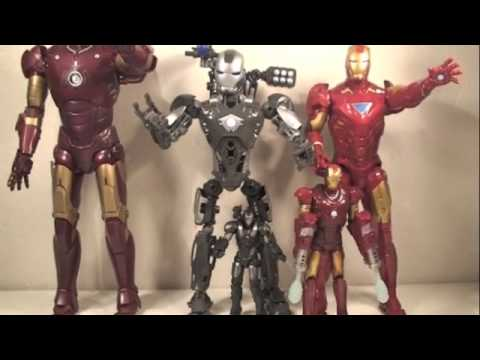 Iron Man 2 Mega Bloks Techbot War Machine Movie Action Toy Review