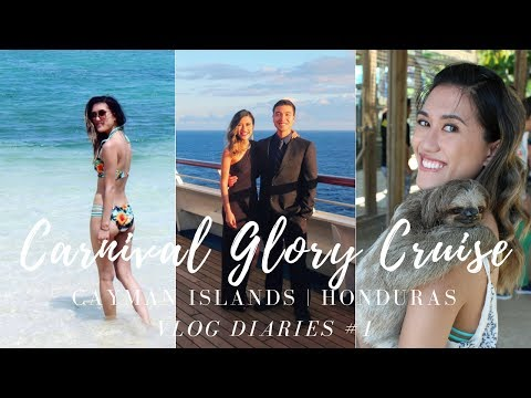 VLOG DIARIES #1: Carnival Glory Cruise | Cayman Islands & Honduras