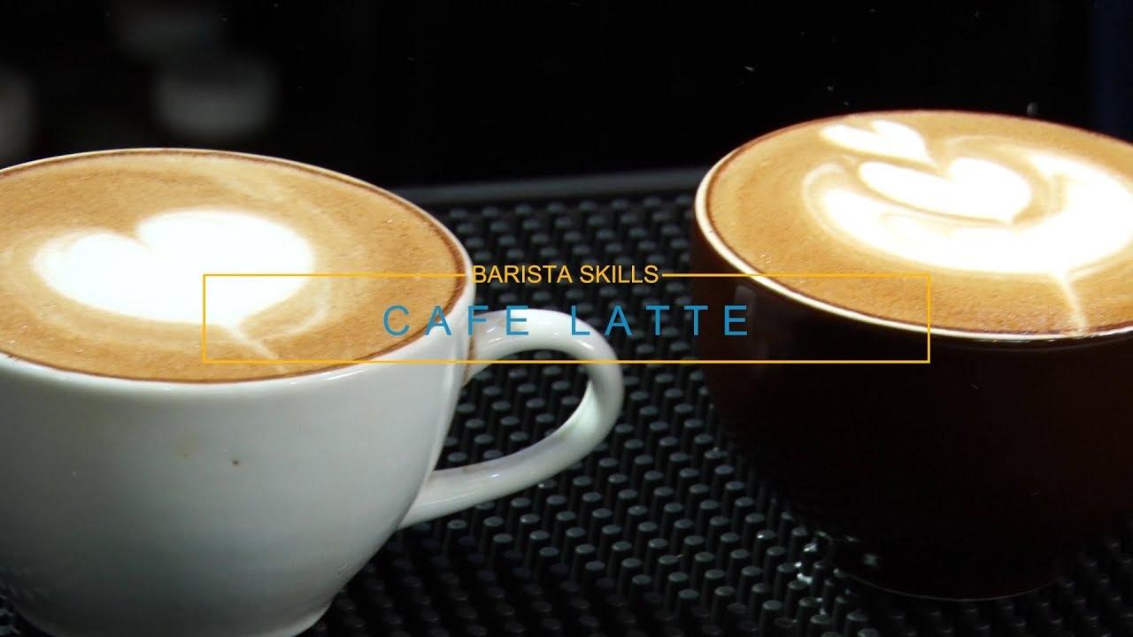 Bài 27 [Barista Skills ] Học cách đổ hình latte căn bản (How to make a Latte art basic)