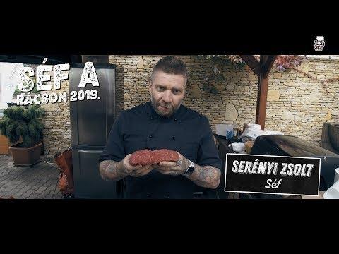 Hátszín nyársak grillen - Serényi Zsolt