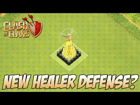 Clash Of Clans Healer Tower (New Defense Idea) April 2015