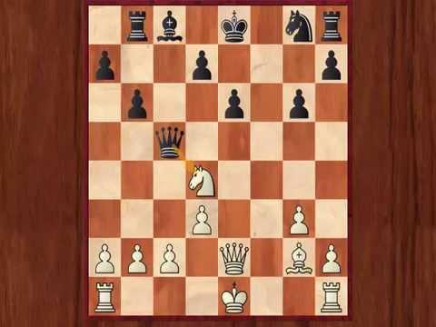 Boris Spassky (2565) vs Johann Hjartarson (2590) 1 - 0 World Cup Belfort 1988