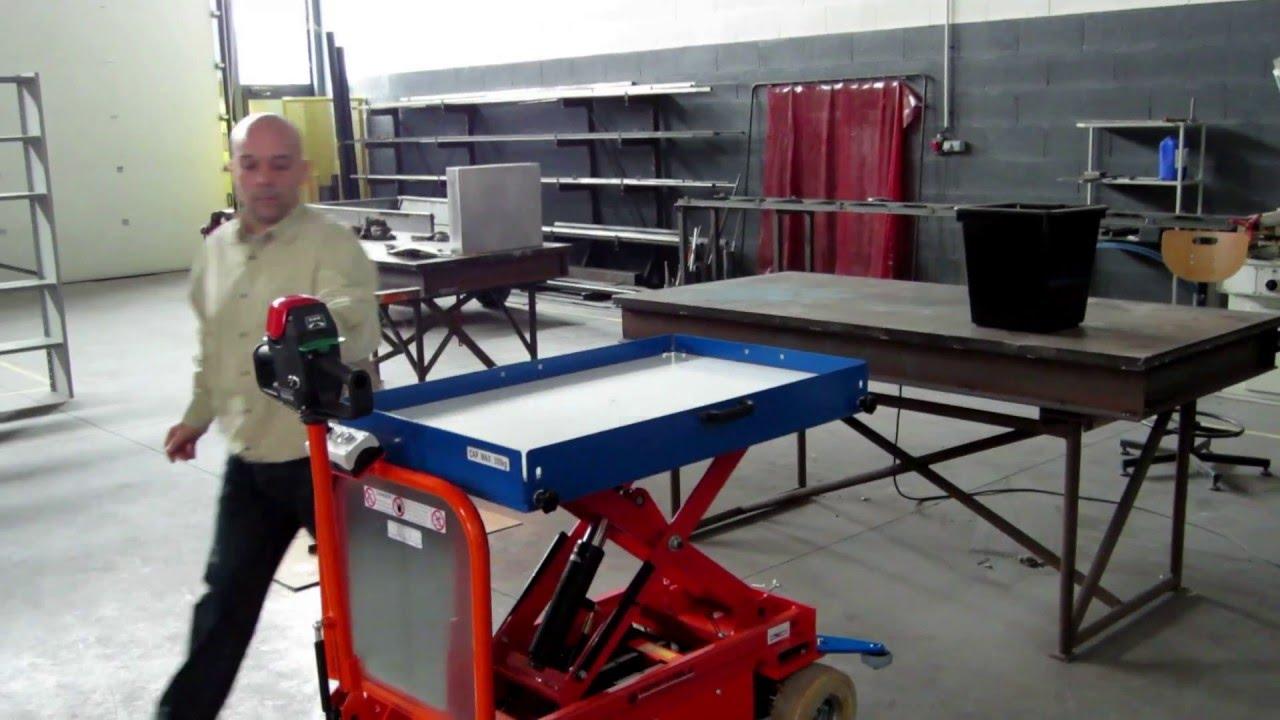 Table Elevatrice Motorisee Par Adap Table Youtube